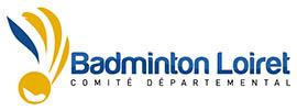 Logo Badminton Loiret, Comité Départemental