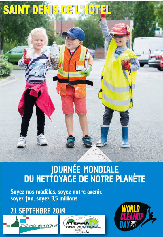 Affiche World CleanUp Day