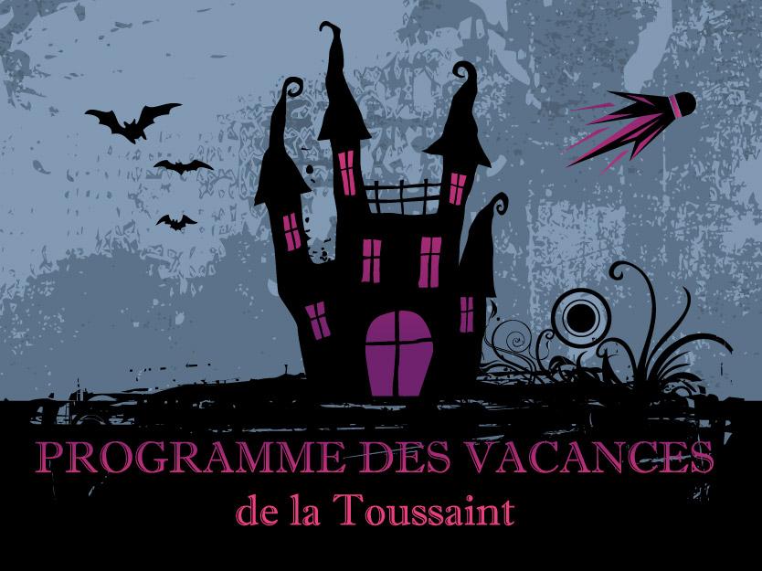 Programme DJS Bad des vacances de la Toussaint