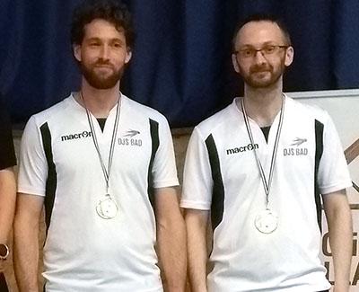Romain et Nicolas, finalistes Double Hommes V1 © DJS Bad
