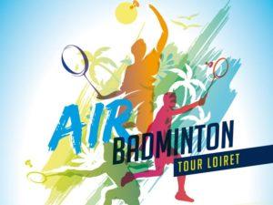 Une étape à Jargeau pour le Air Badminton Tour Loiret