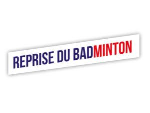 Reprise du badminton pour les mineurs