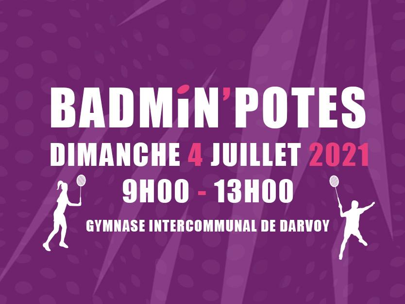 Badmin'Potes : portes ouvertes le 4 juillet