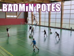 Les Badmin'Potes sont venus nombreux !