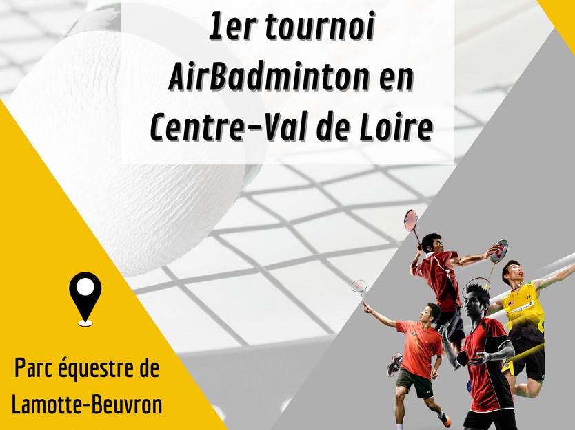 You are currently viewing Un tournoi de AirBadminton organisé par la Ligue Centre-Val de Loire
