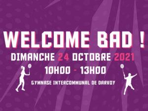 Read more about the article Welcome Bad ! La matinée d'intégration